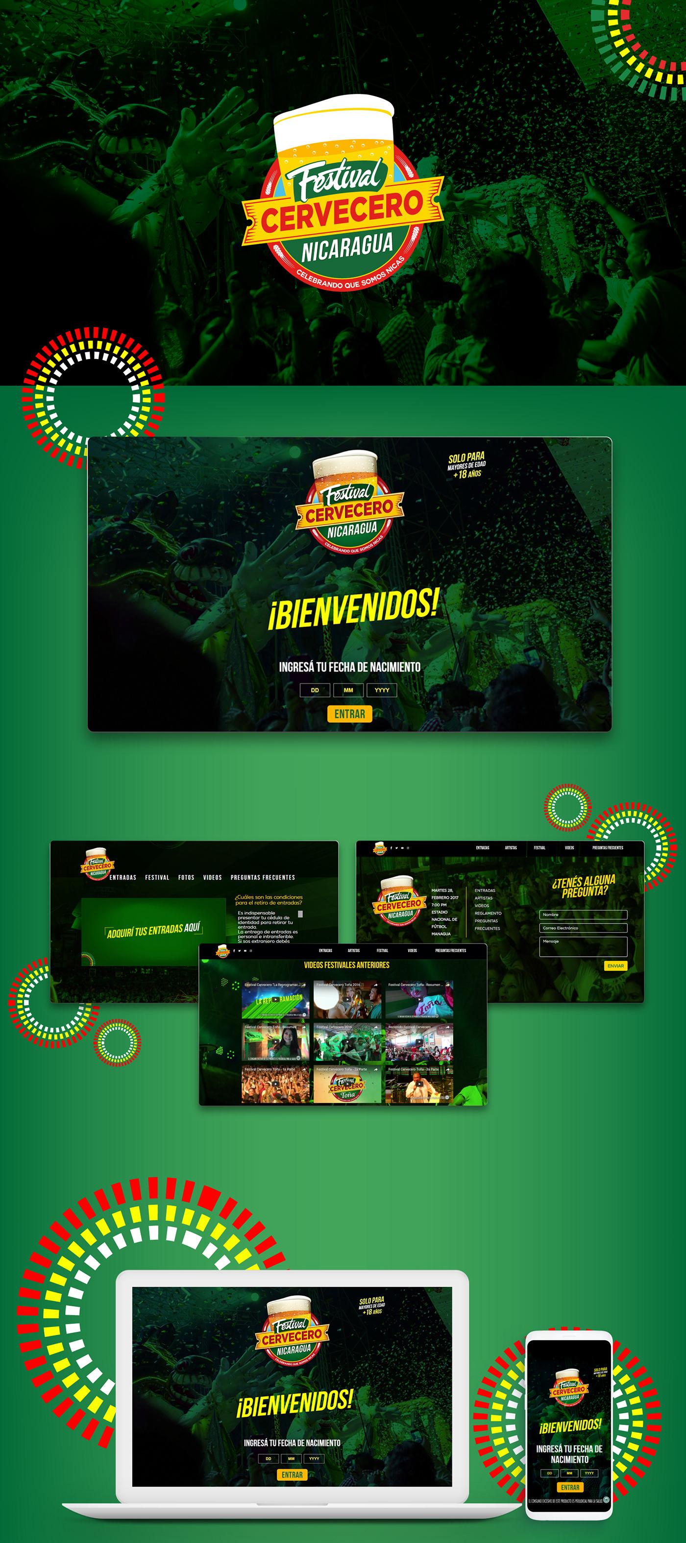 Branding Digital agency agencia de publicidad Nicaragua Bold ux/ui
