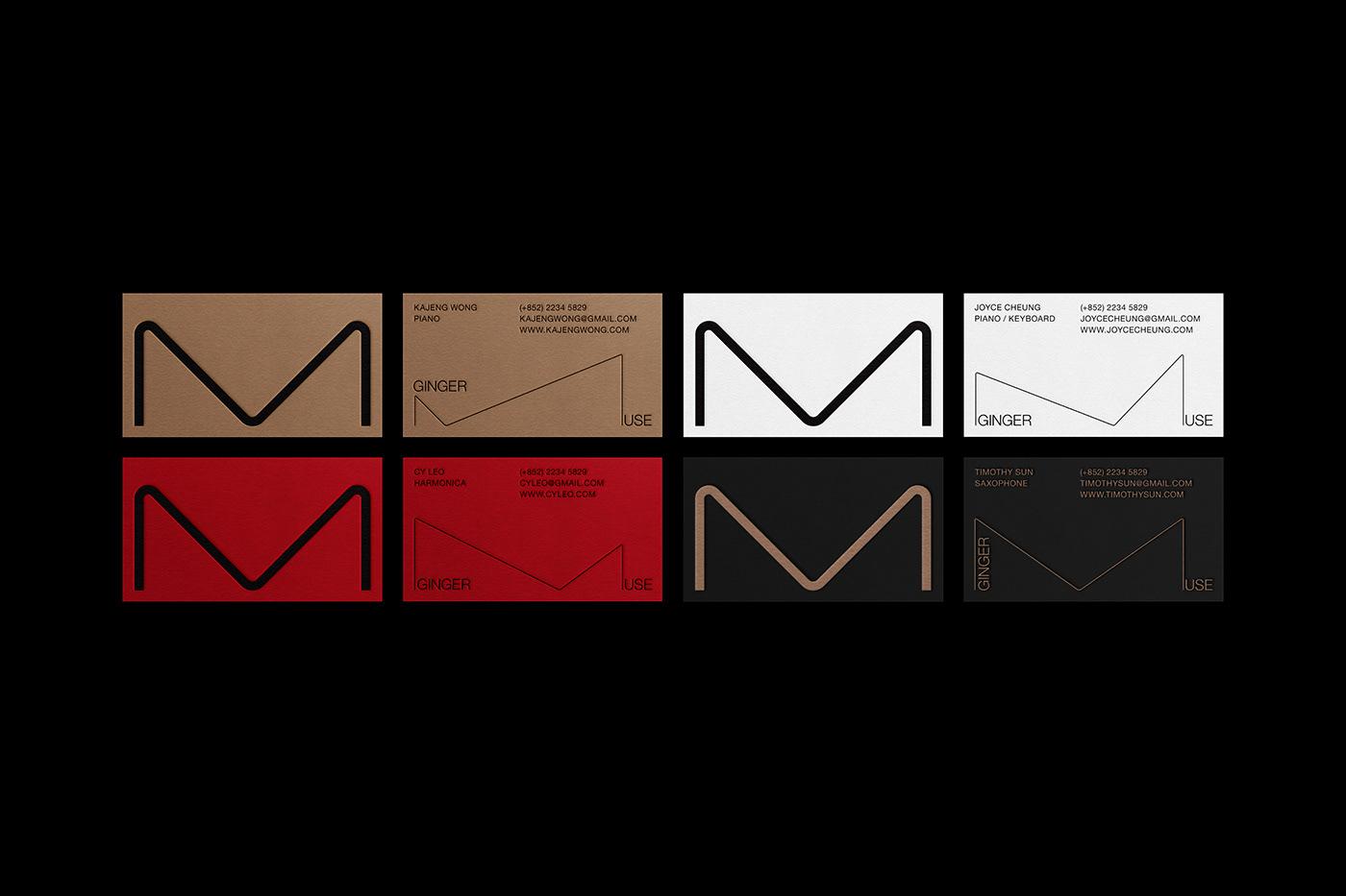 branding  helvetica identity music poster studiowmw