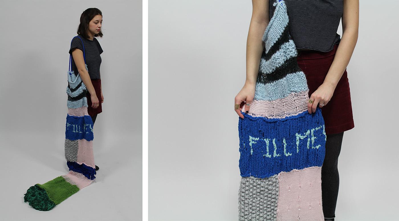 fiber textile design  basket weaving knitting garment ceramics