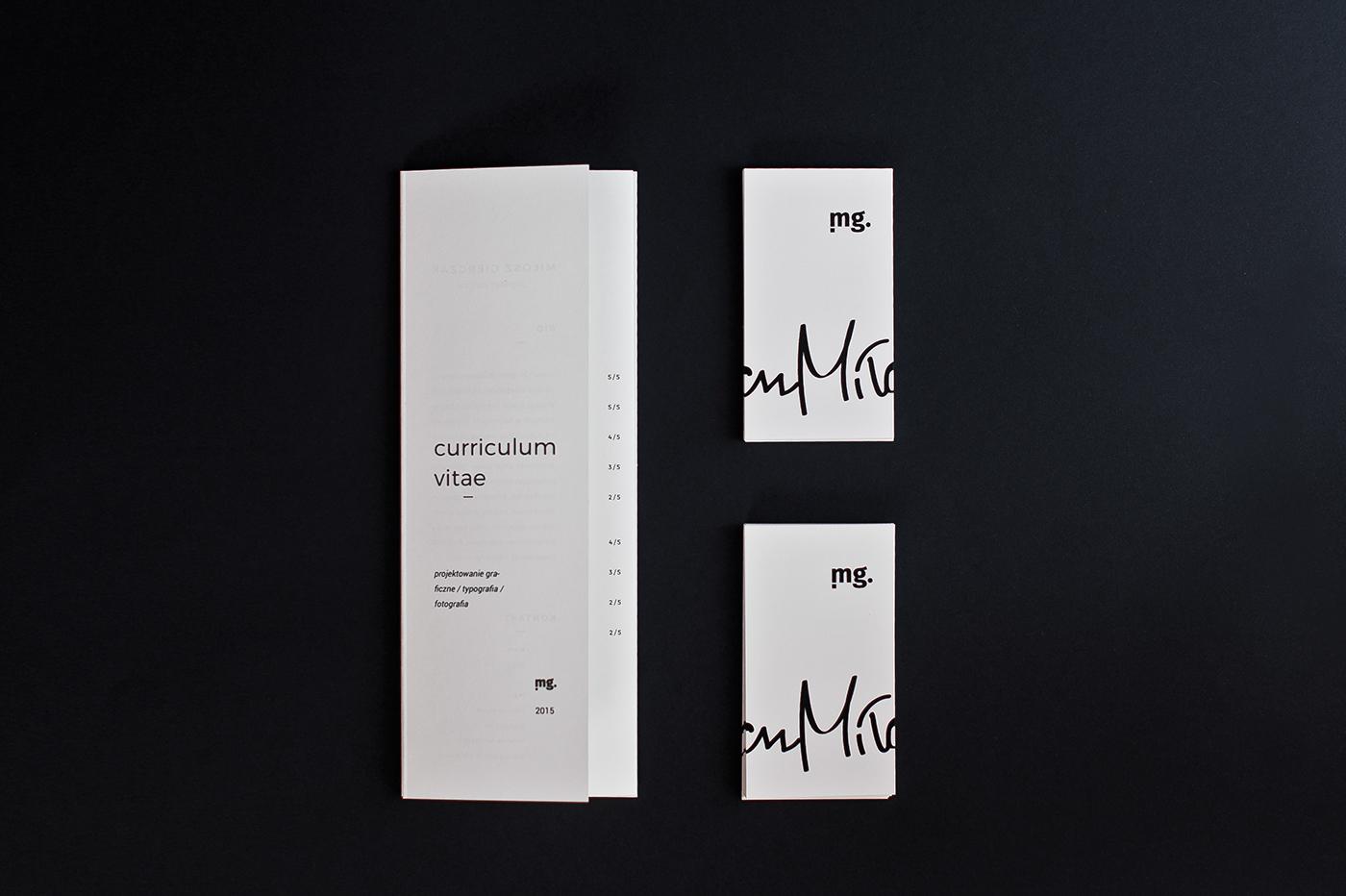 cv folder mailer quad fold brochure self prom on behance