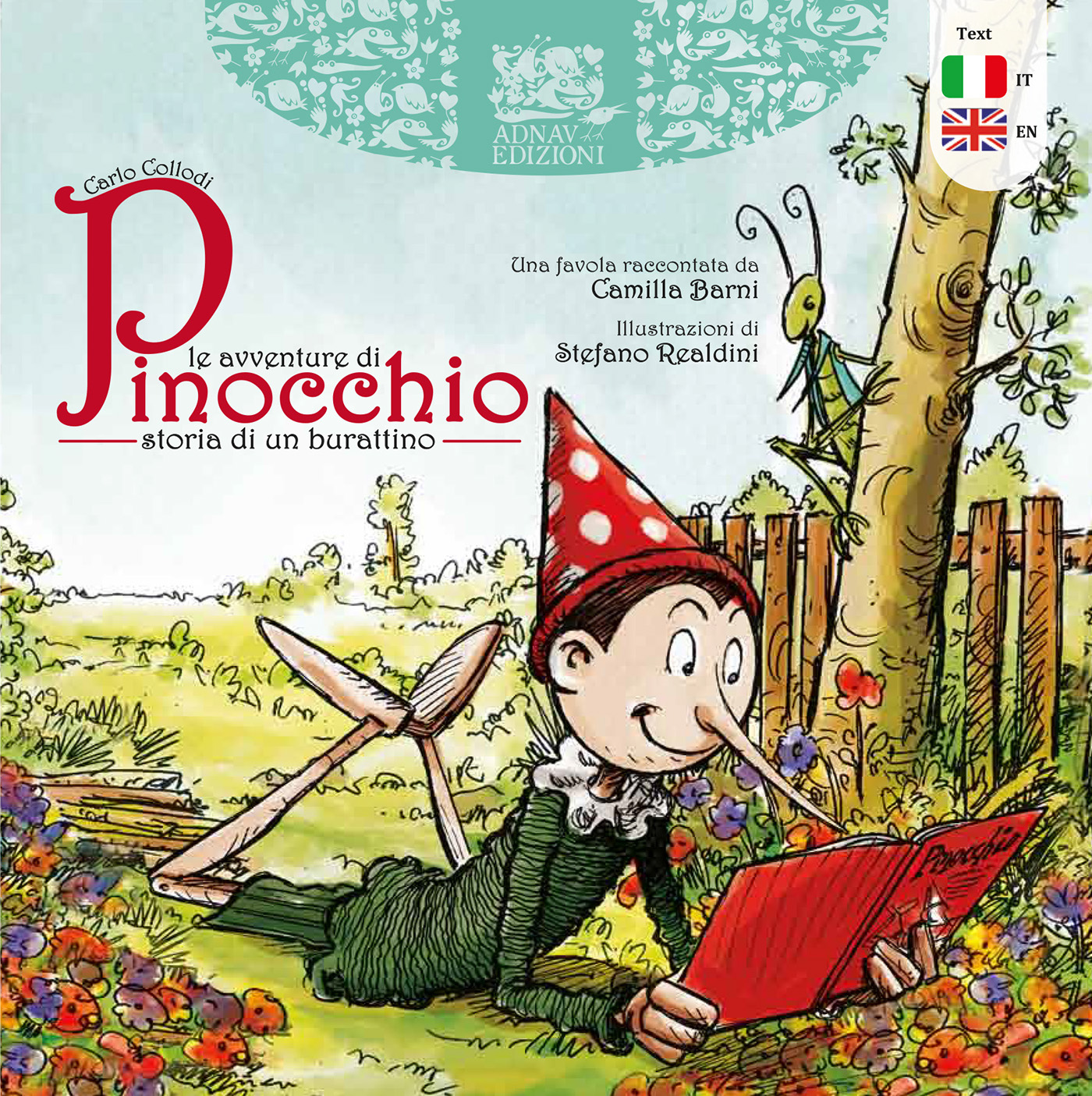 The Adventures of Pinocchio - Book illustration on Behance