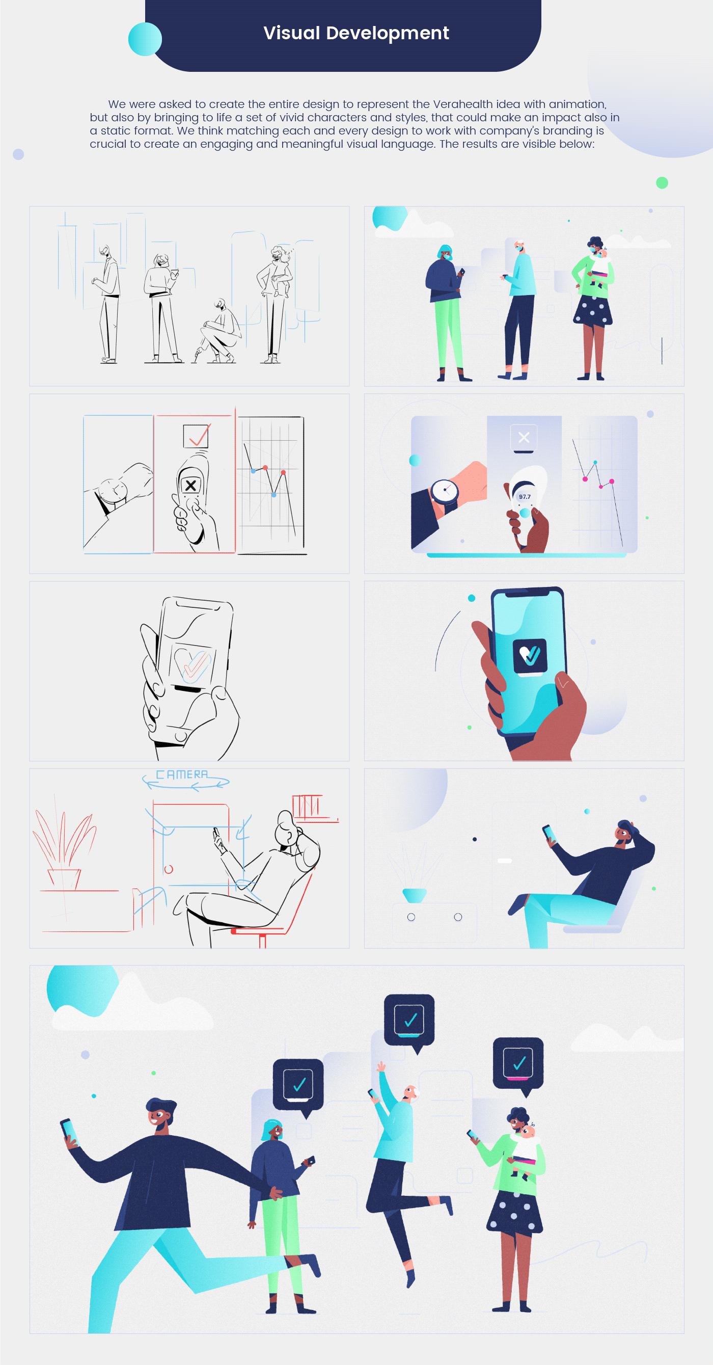 2D Animation app character animation Character design  Coronavirus COVID-19 explainer video Health pandemic safe