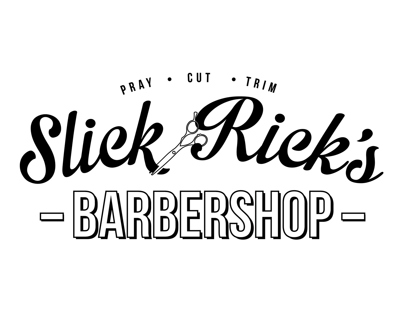 Rick S Barber Shop >> Slick Rick S Barbershop Brand Identity On Behance