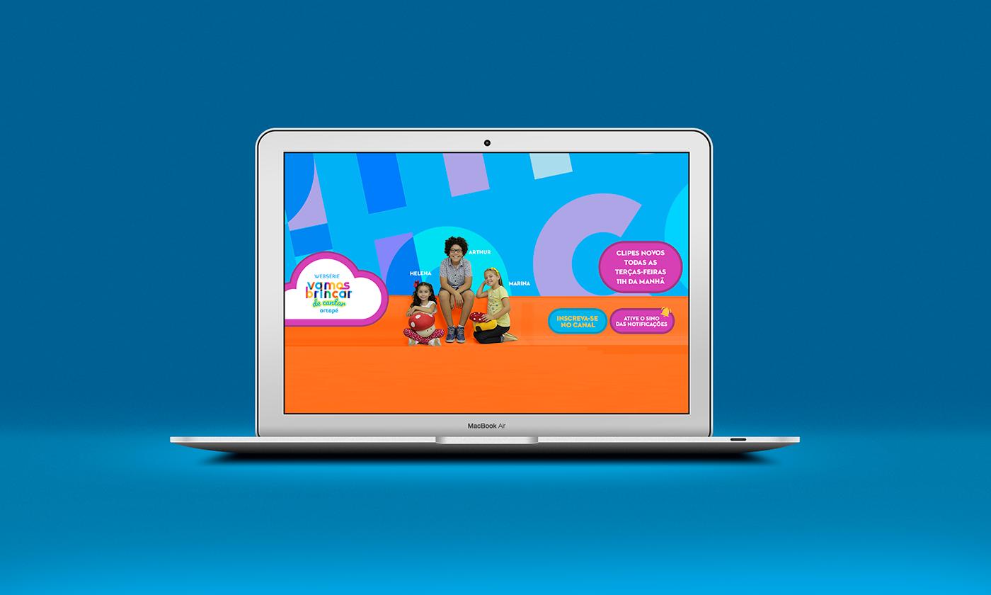 youtube webserie design gráfico identidade visual banner card Stories social media Redes Sociais