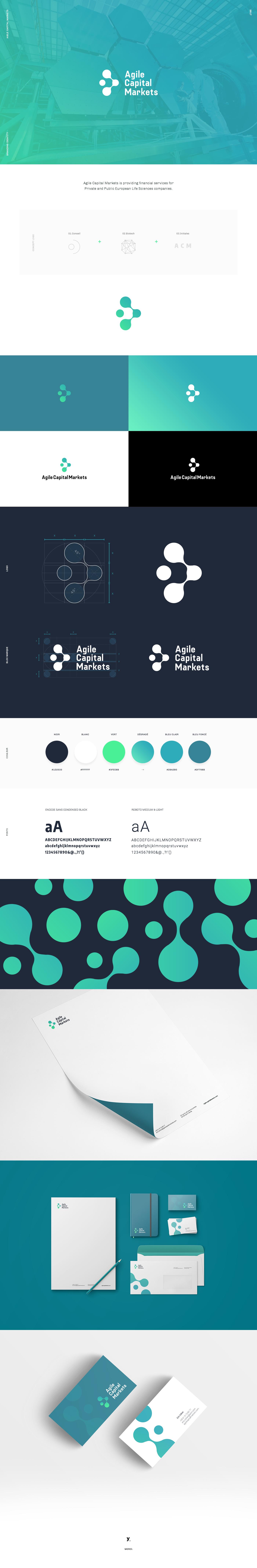 biotech futur Technology branding  identity logo design finance