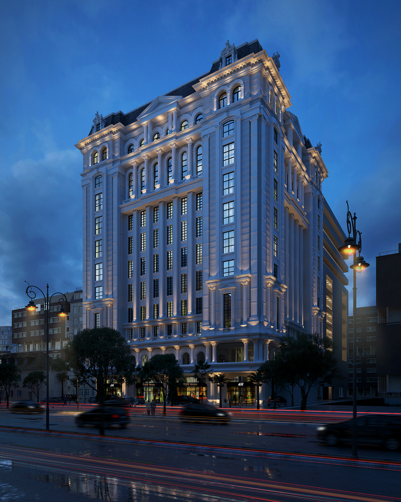 5 Stars Hotel In Jeddah On Behance