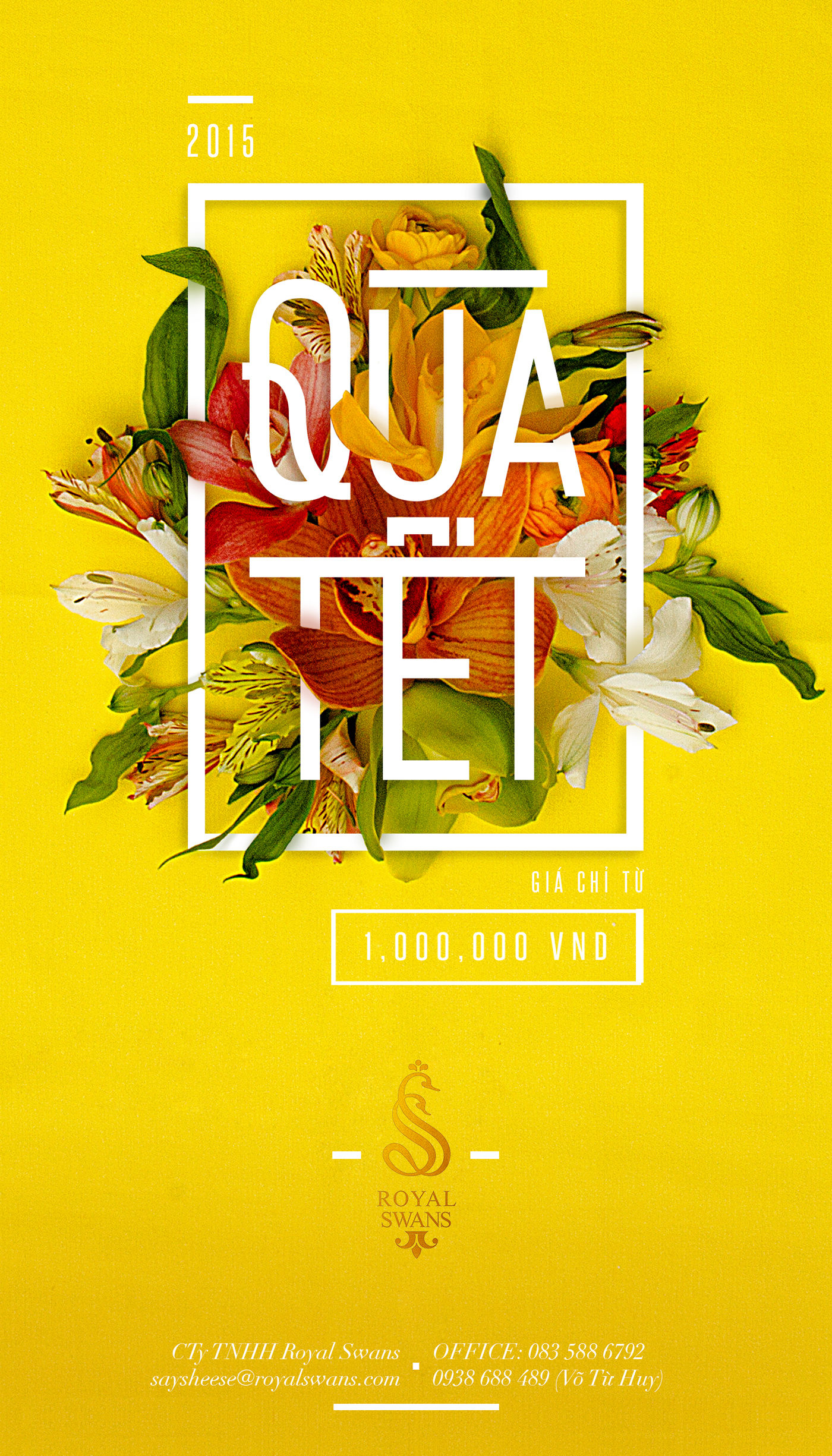 poster holiday tet gift posters behance designs layout christmas gifts vietnamese designed dung