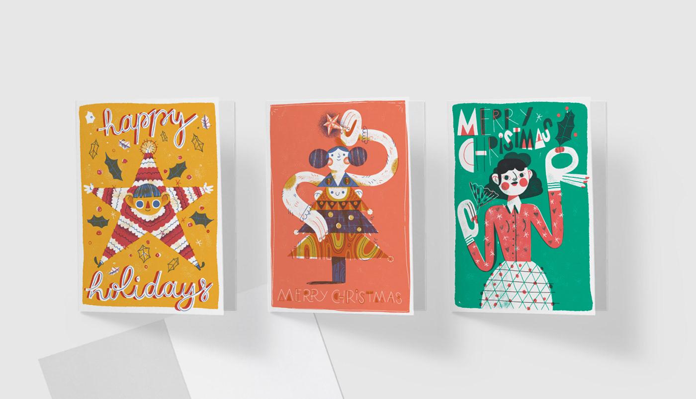 精品的27個聖誕卡片欣賞