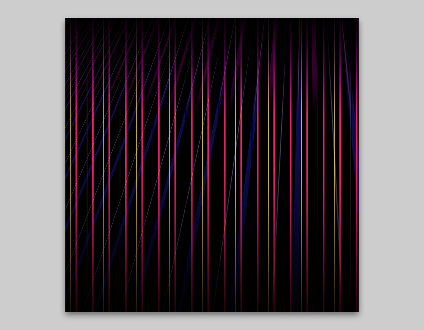 geometric abstraction pattern