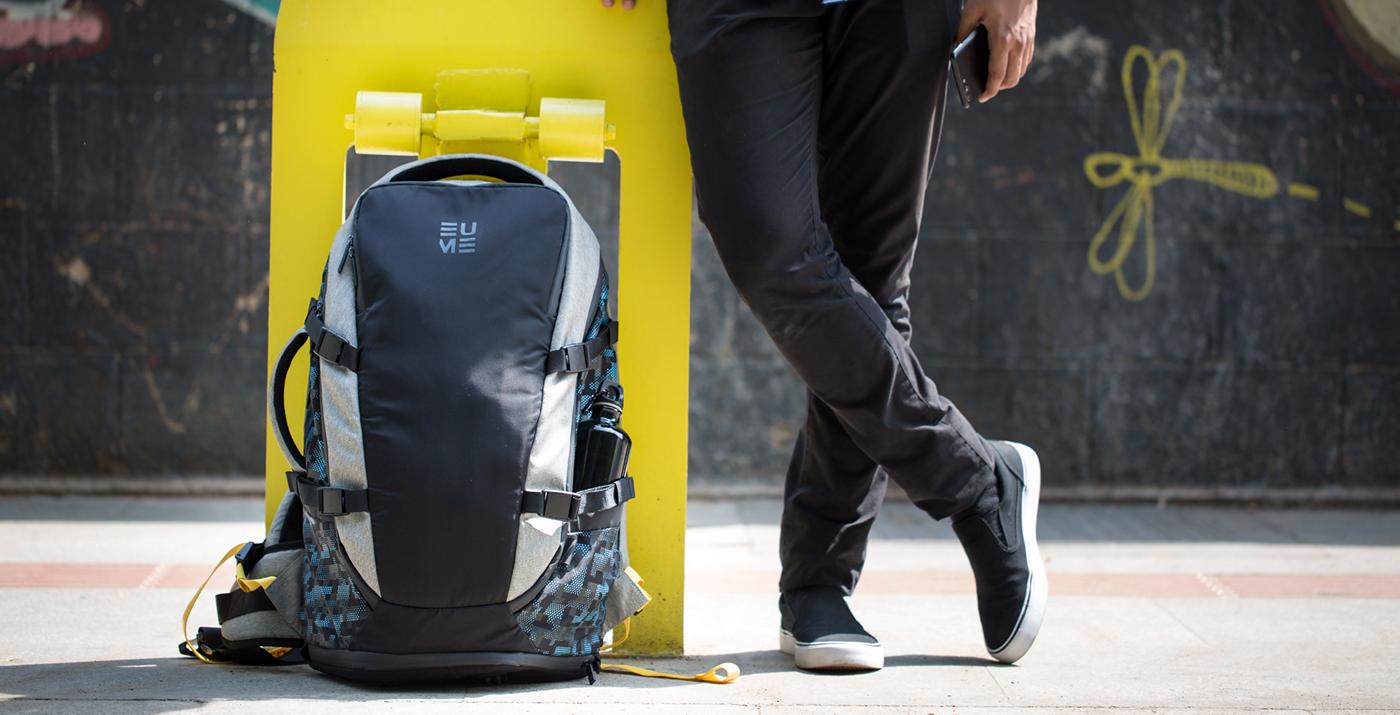 38537a2f4de World's First Massager Backpack on Behance