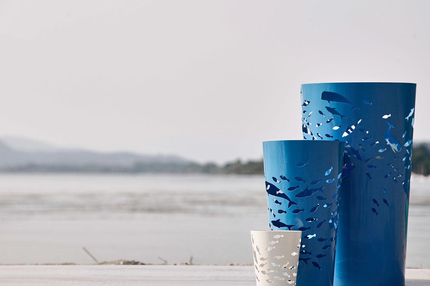 Adobe Portfolio Lacomet Design laser cut Custom Service Lacomet garden living Outdoor vaso vassels