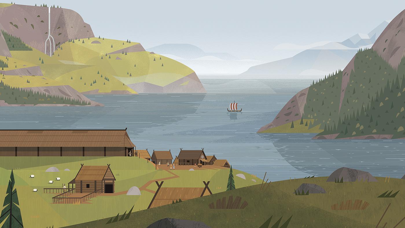 warrior War Landscape portrait