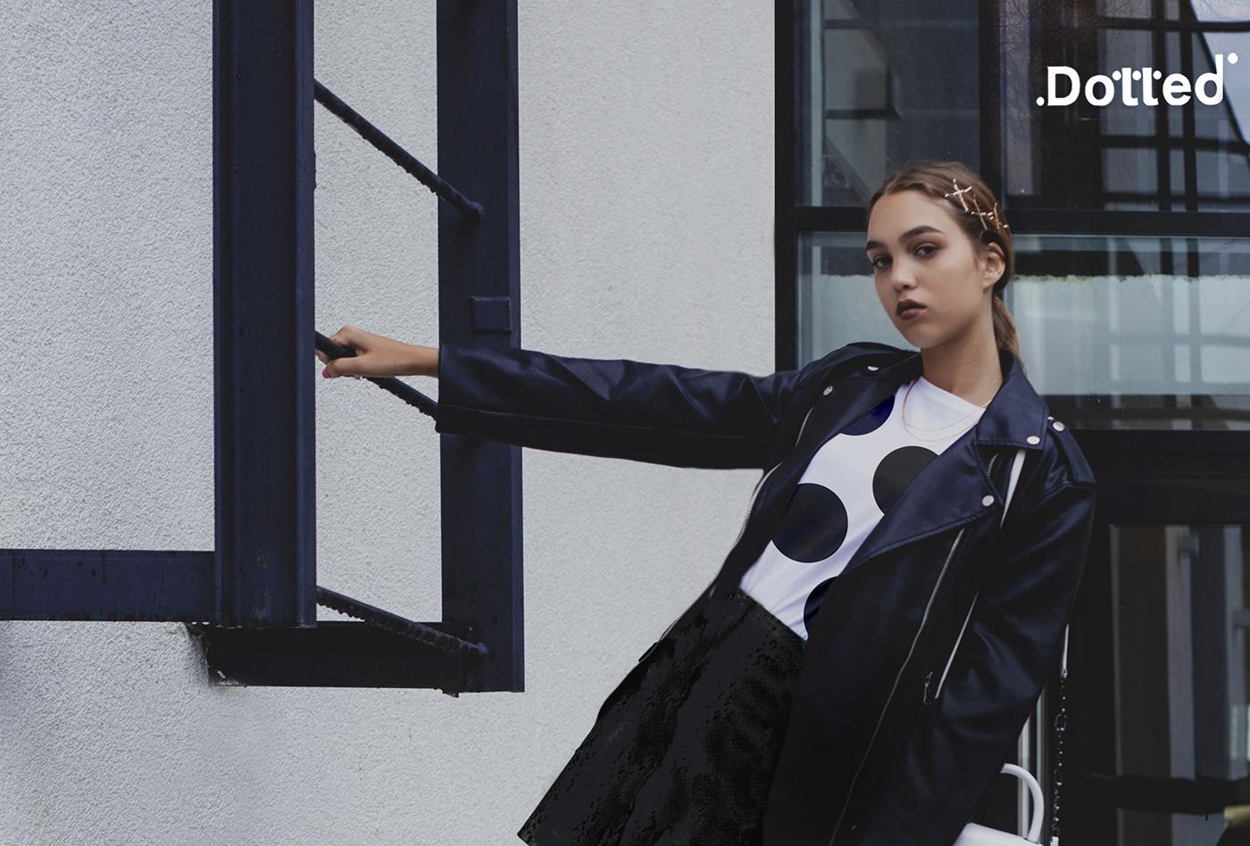 black Photography  motion store Advertising  Fashion  Retail Logo Design photoshop Bojana Knezevic