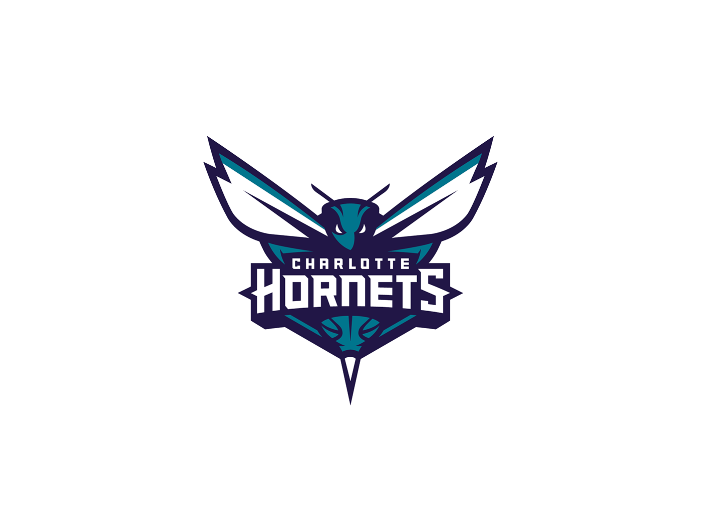 Charlotte Hornets Primary Logo On Behance