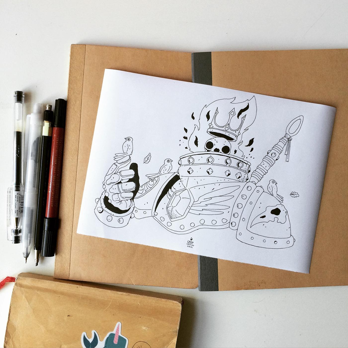 Character Design Job London : Bird king on behance