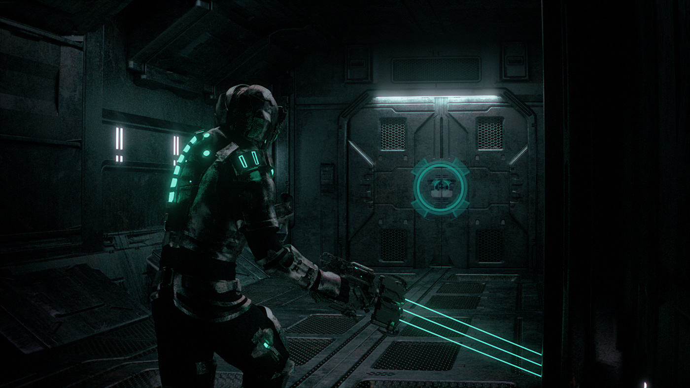animation  art CG CGI cinema4d Dead space game intro Opening Render