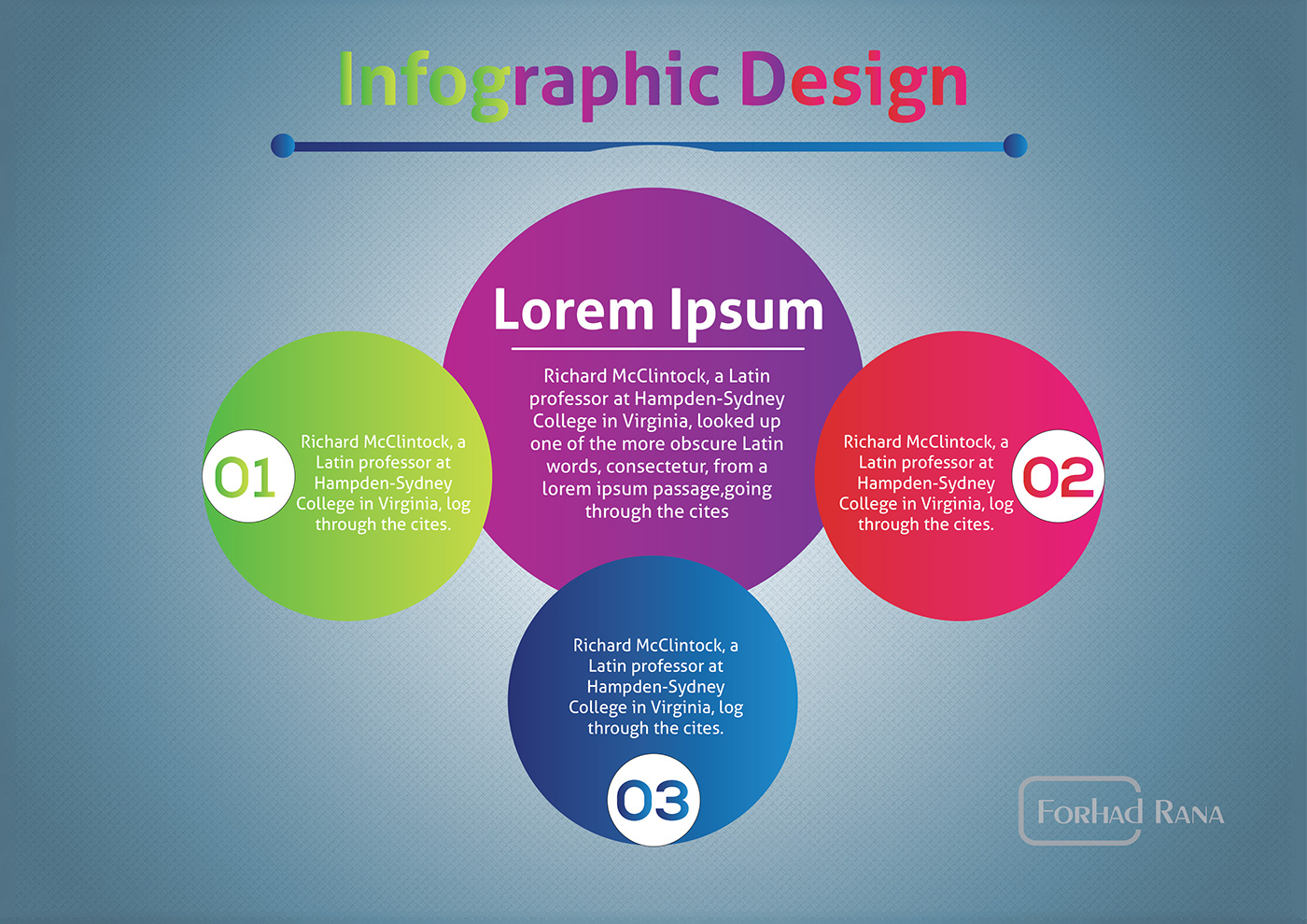 infographic design infographic Round shape infography info