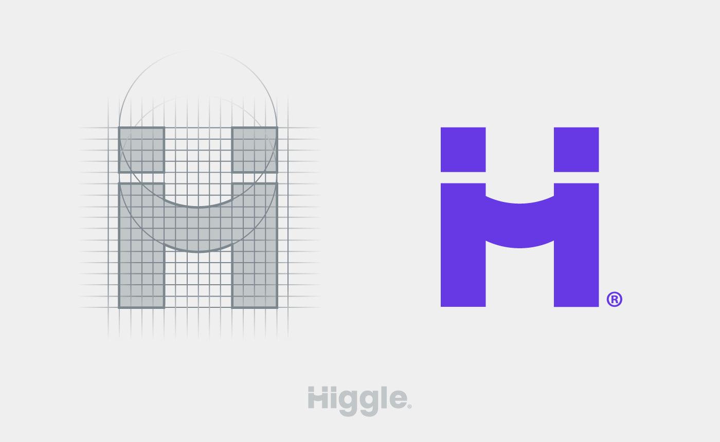 Higgle Logo grid