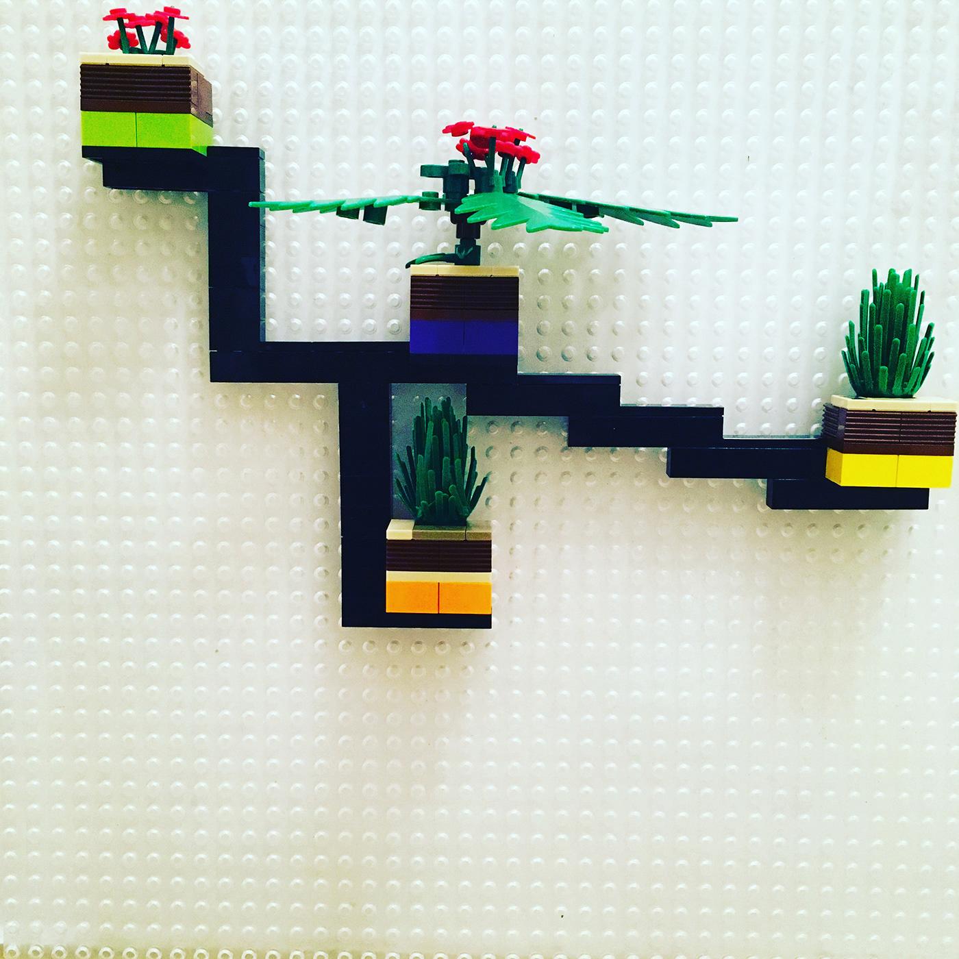 ideas prototipos LEGO bricks validation Prototypes diseño design escaparatismo Shopwindow maquetas Service design