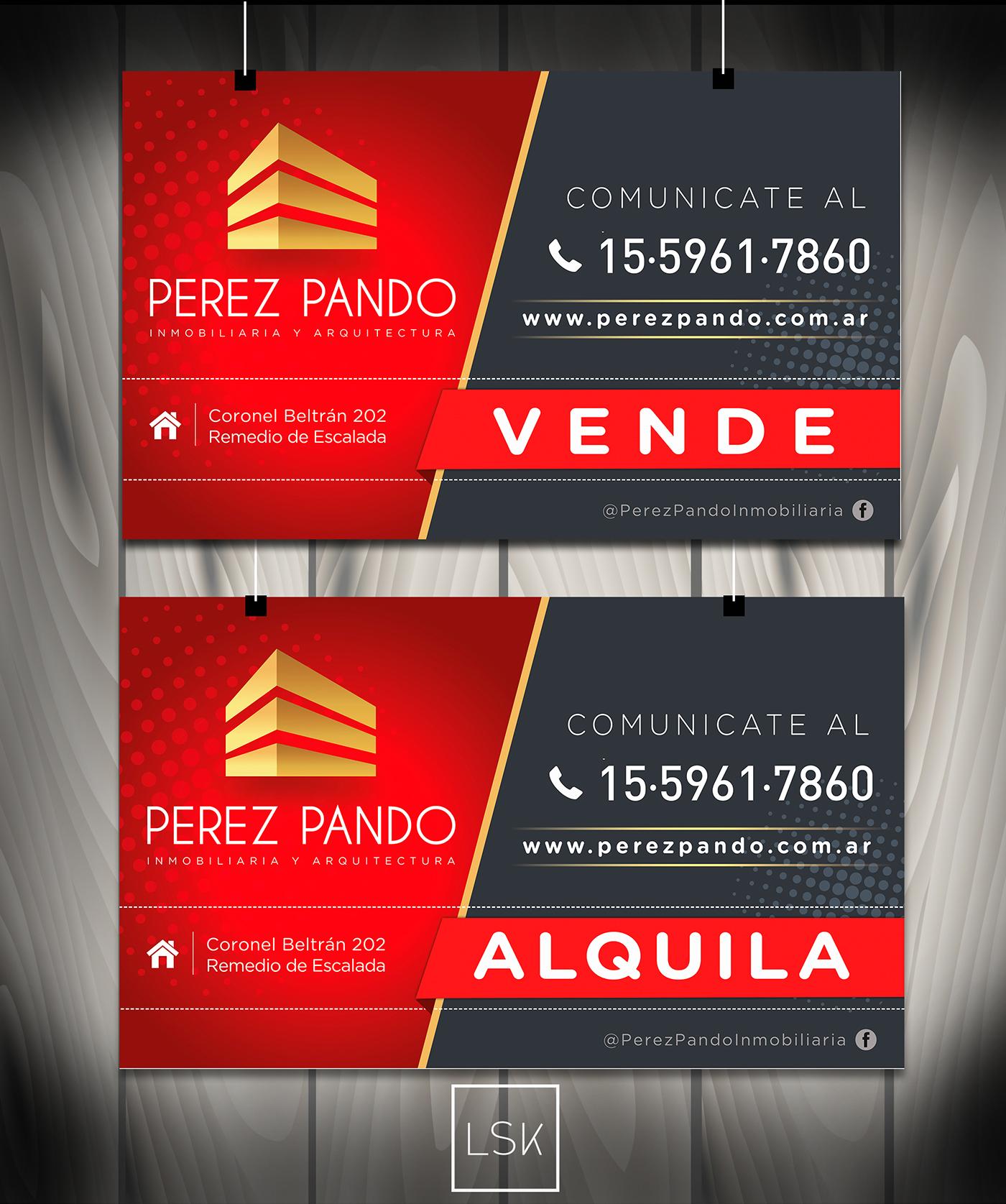 grafica isologotipo web responsive inmobiliaria