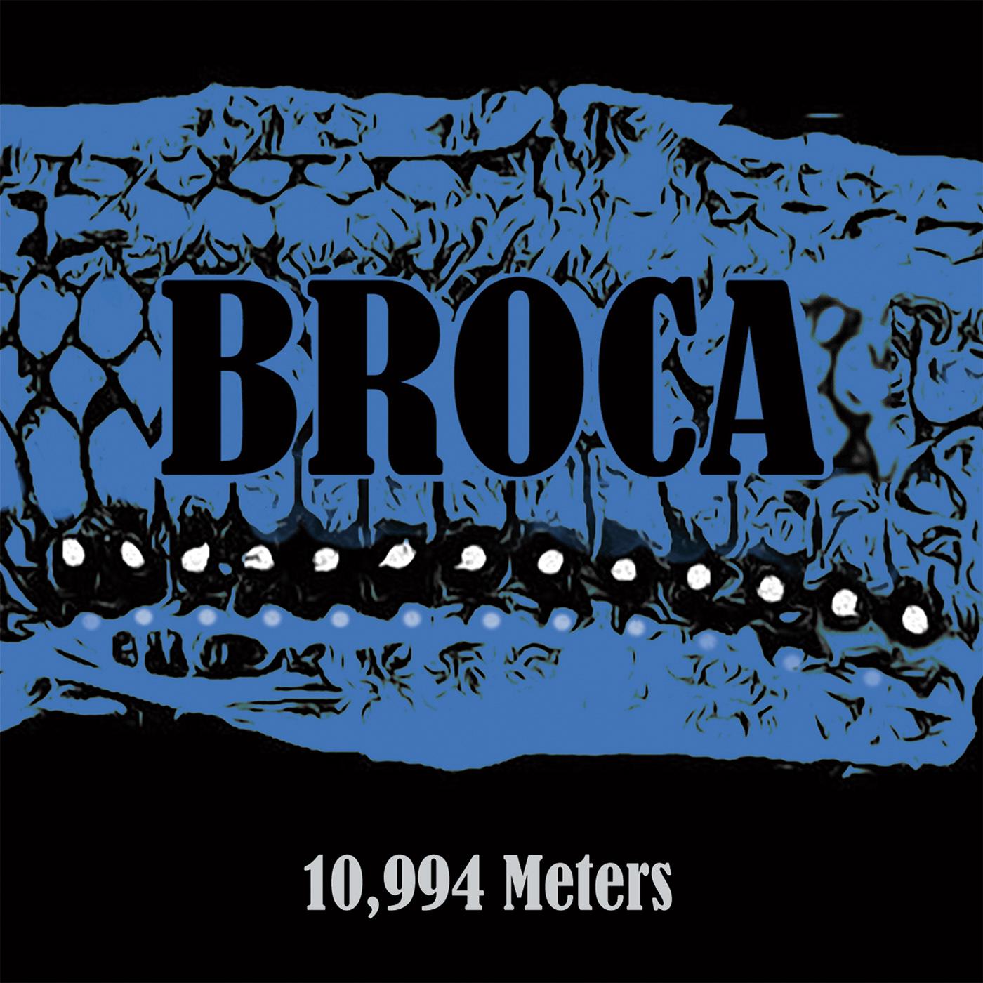 Album artwork by Colin Bragg for Broca