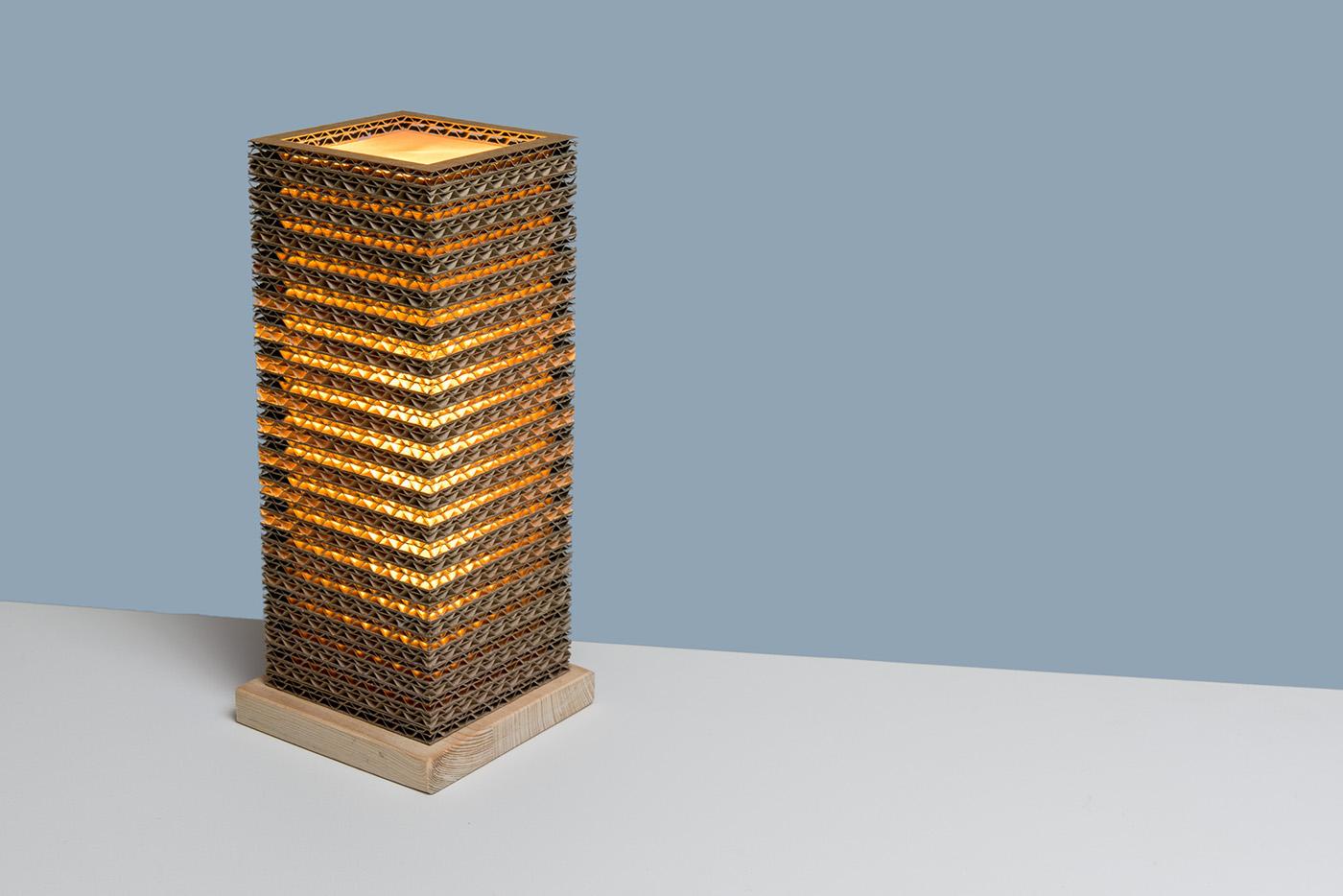 design lamp Lamp eco friendly block light