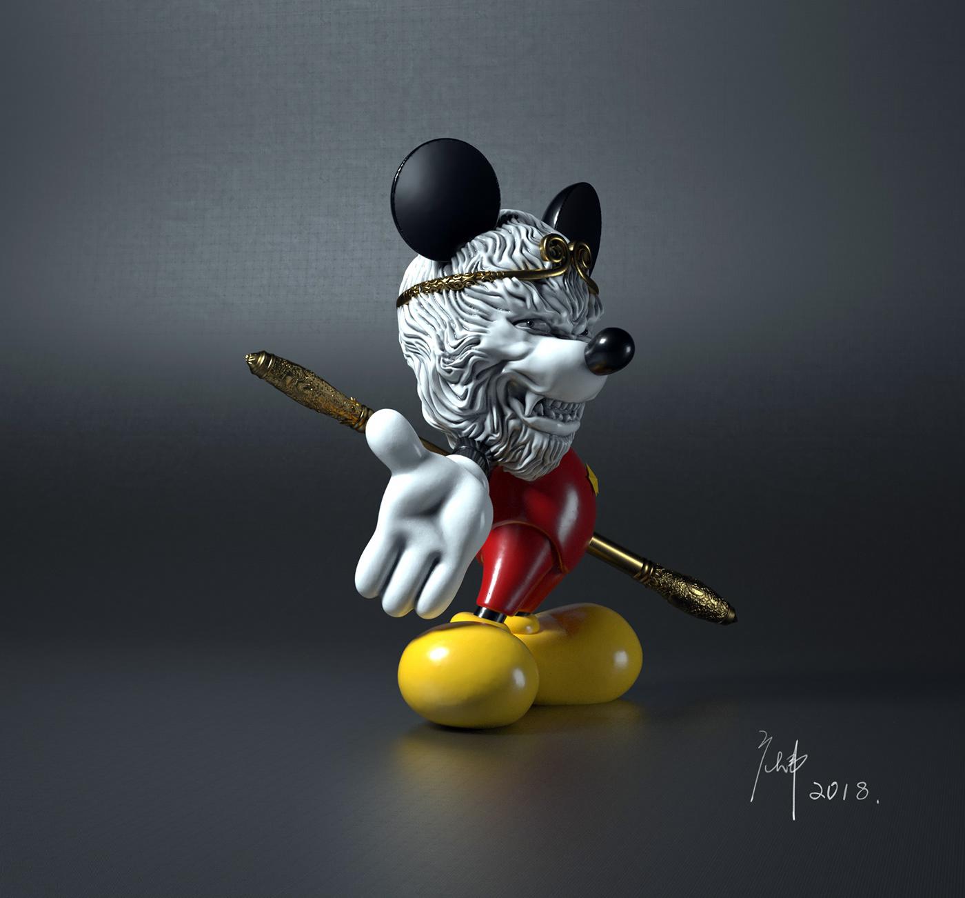 Mickey Monkey on Behance