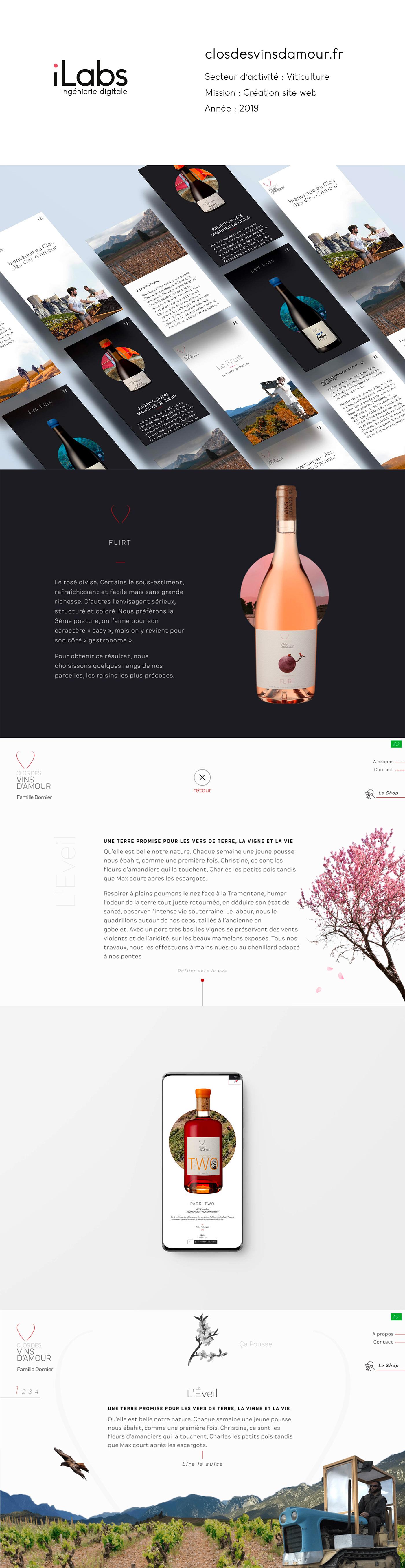 creation design site web ui design UX design