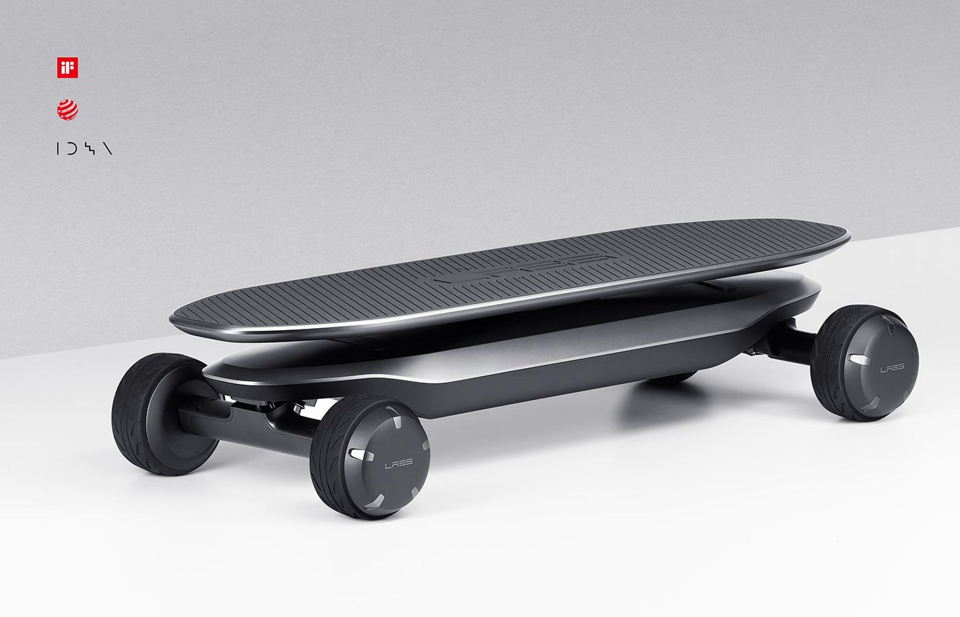 제품디자인회사 VLND의 김승우 디자인 디렉터가 디자인한 PLMM Electric Skateboard.
