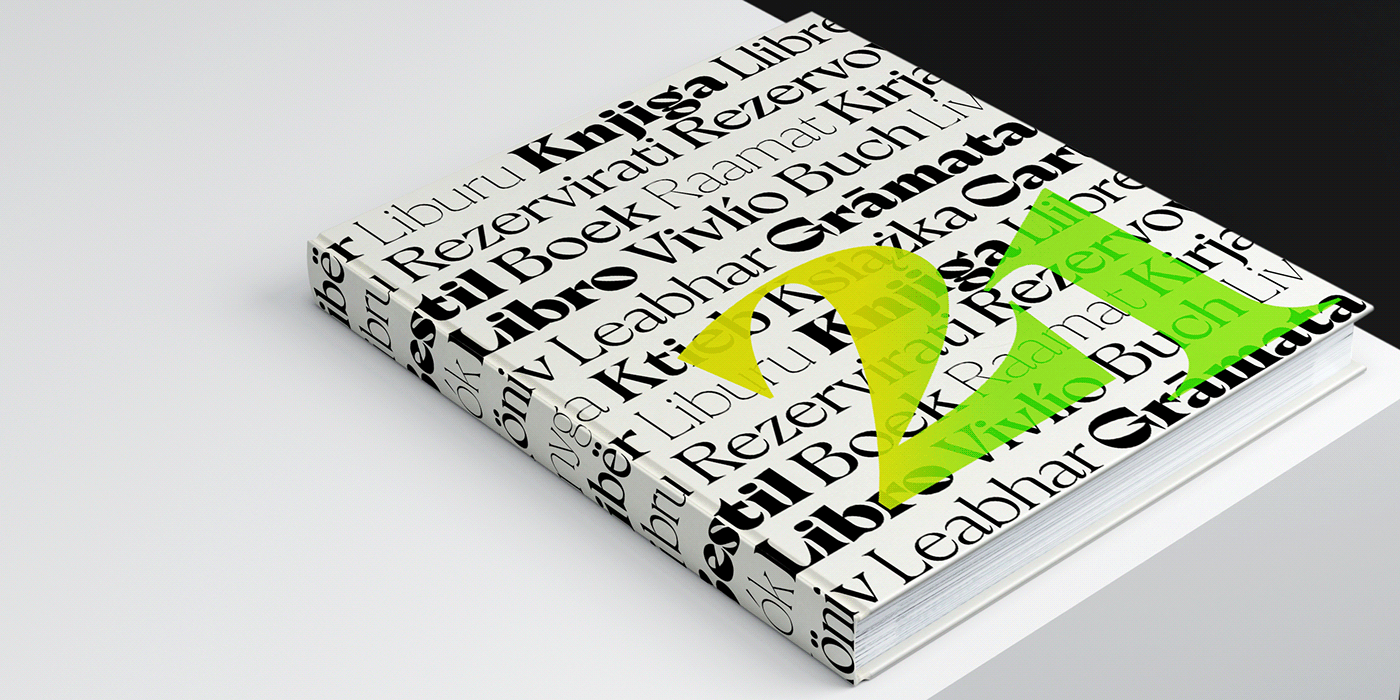 contemporary editorial font modern sudtipos trendy typography