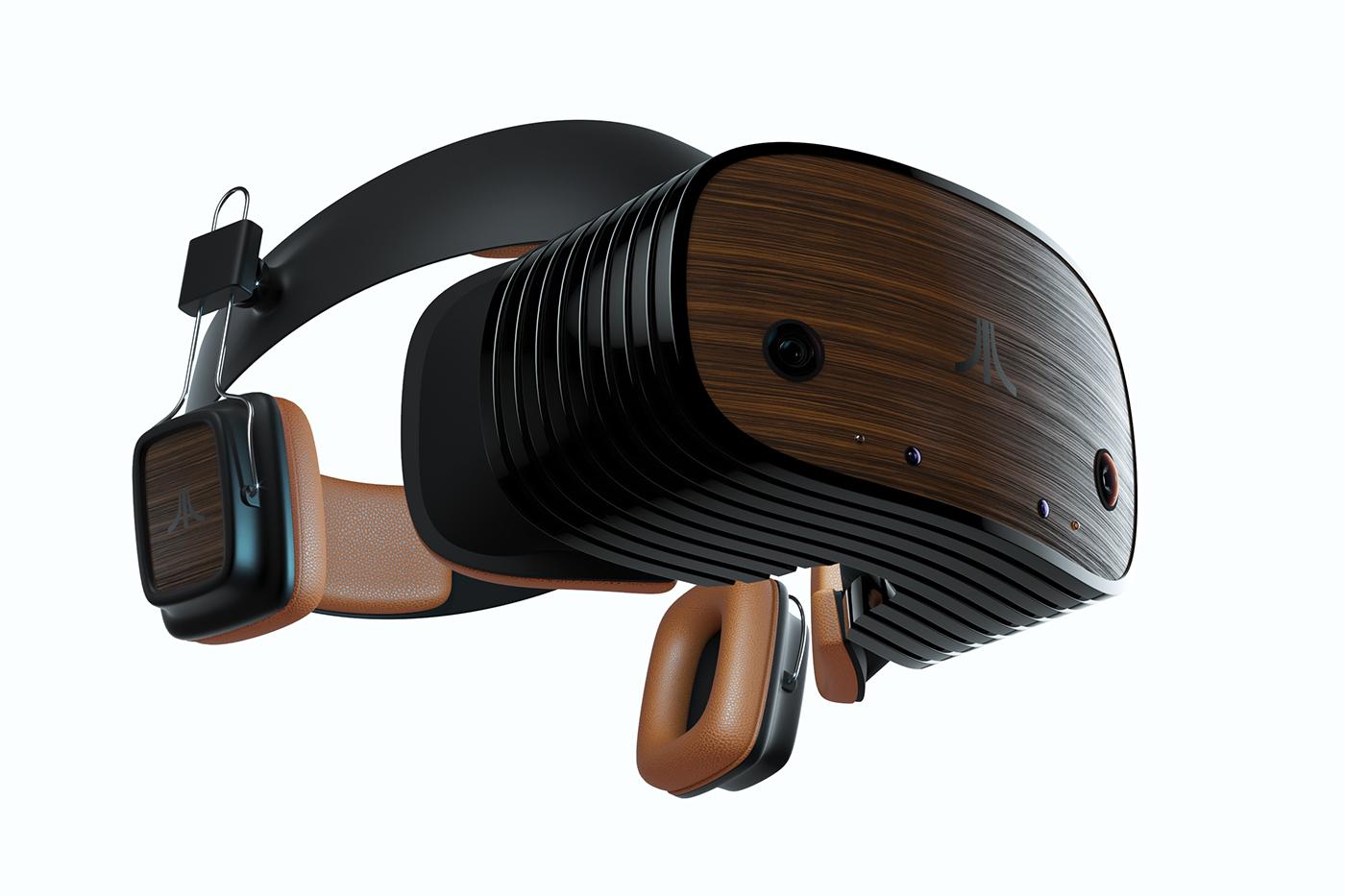 atari vr hmd Retro Games Virtual reality atarivr atari vr AR Mixed Reality