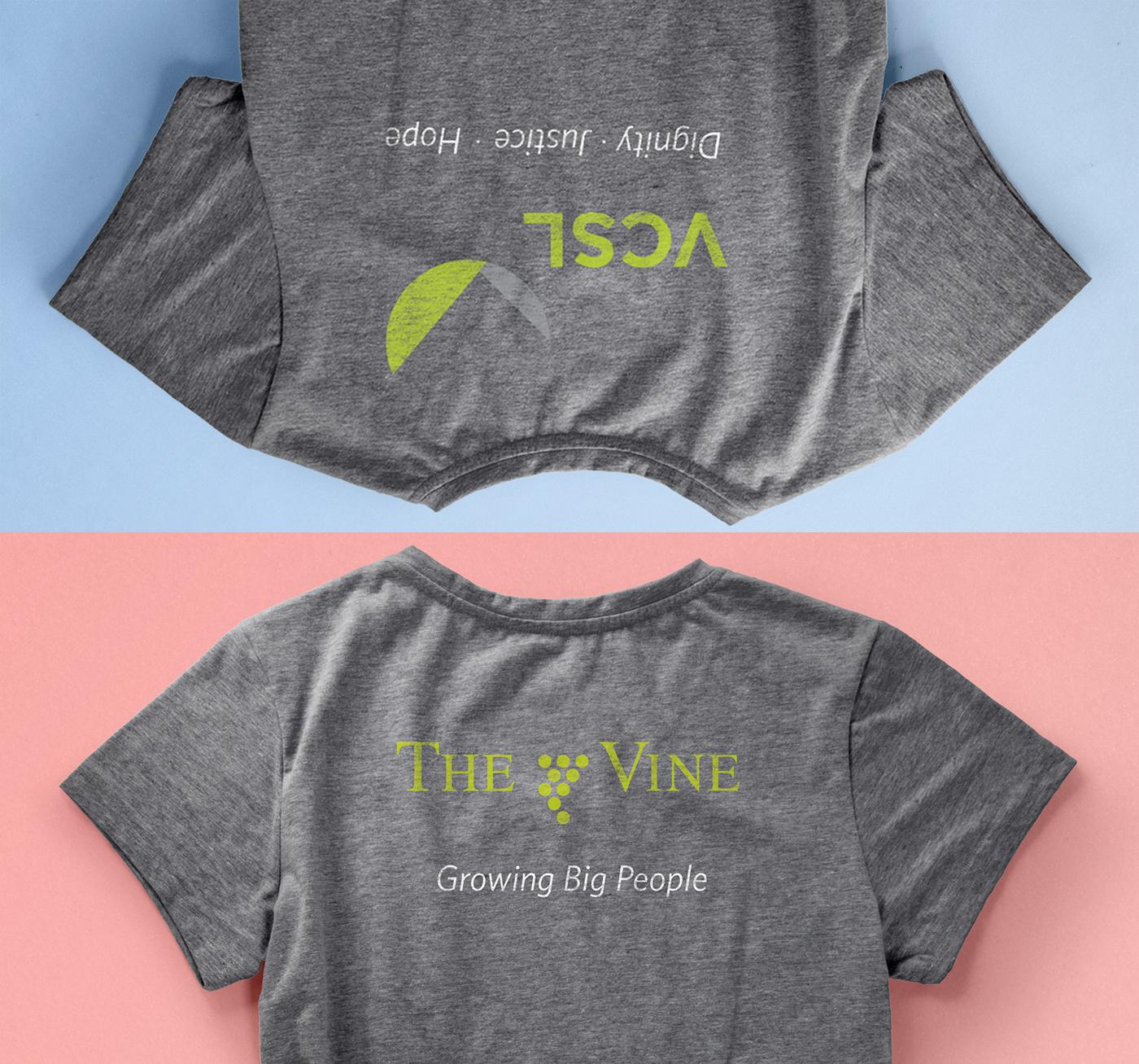 The Vine Church: Volunteer T-Shirt Design on Behance