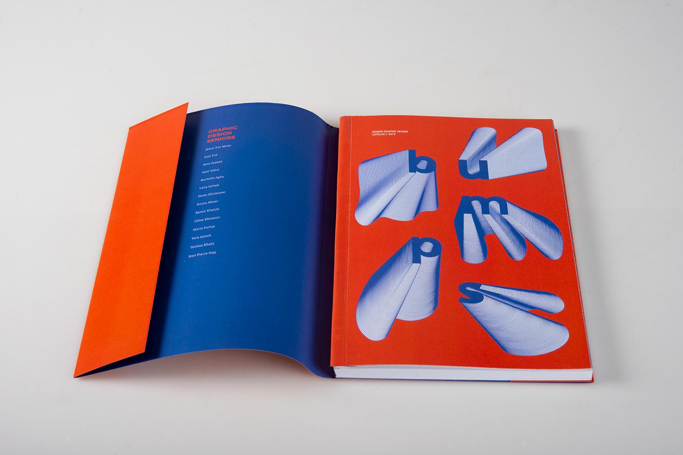catalog publication bumps bold journey design
