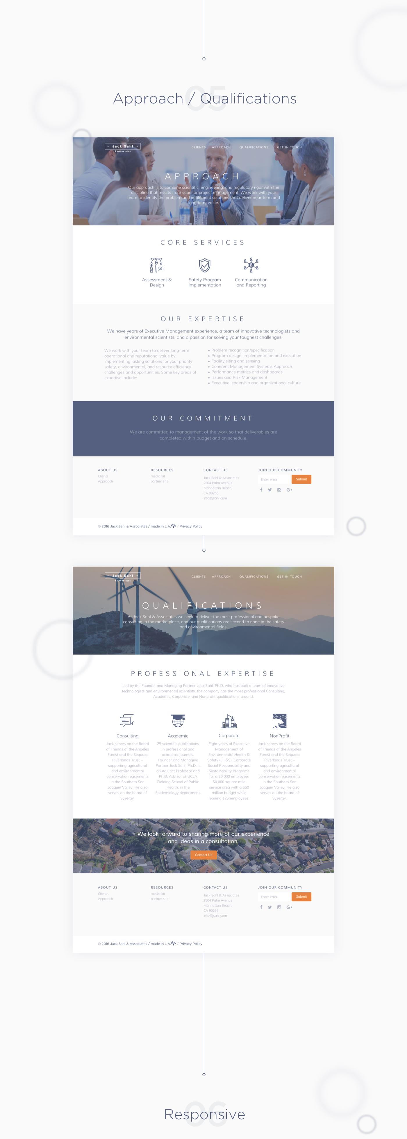 Jack Sahl Website Redesign & WordPress development