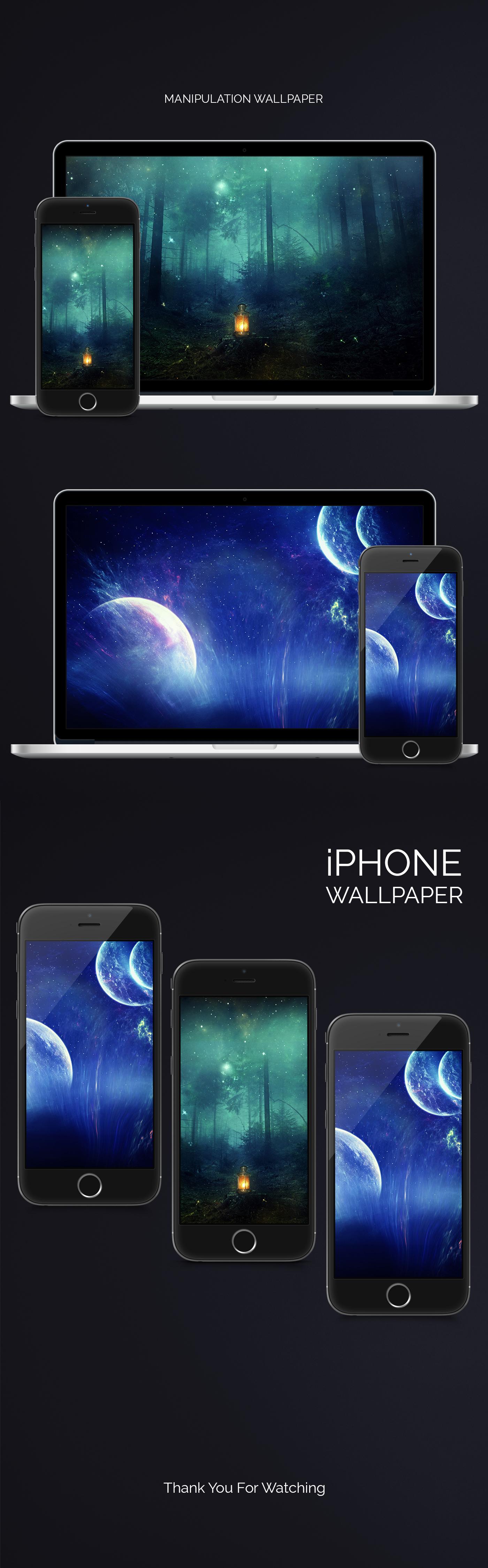 wallpaper iphone macbook