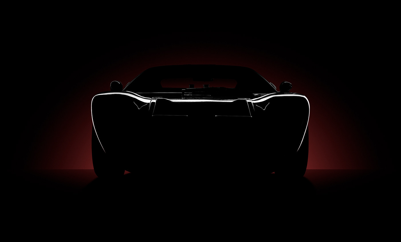 Budget camera Ford GT40 lighting Photography  sunset