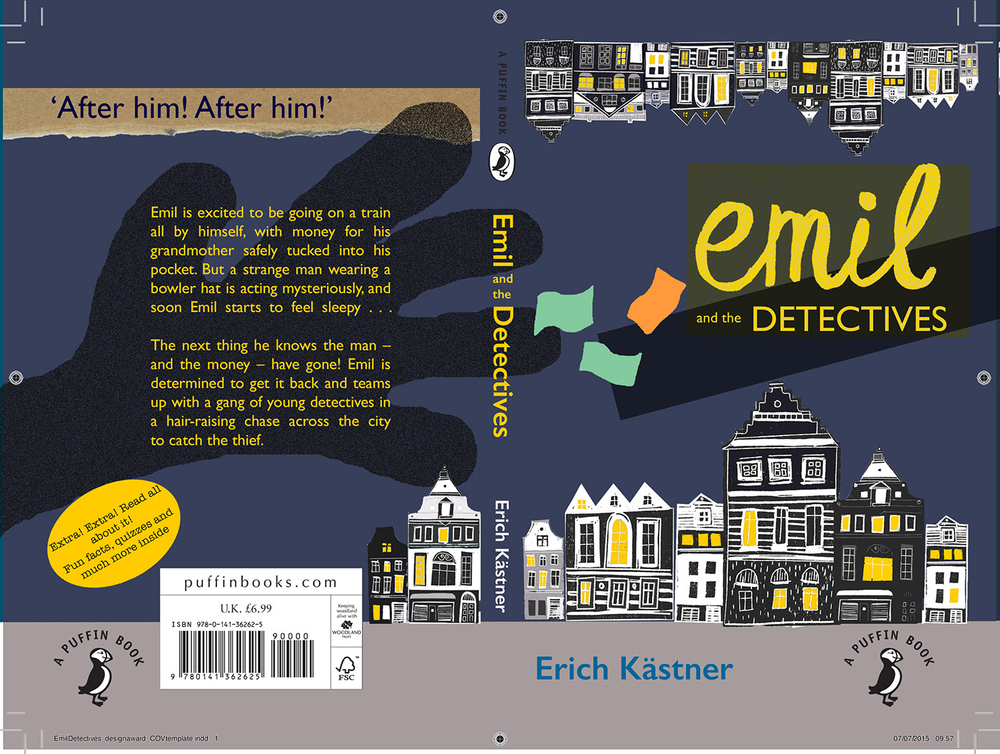 Penguin Book Cover Awards ~ Final book cover design penguin on behance