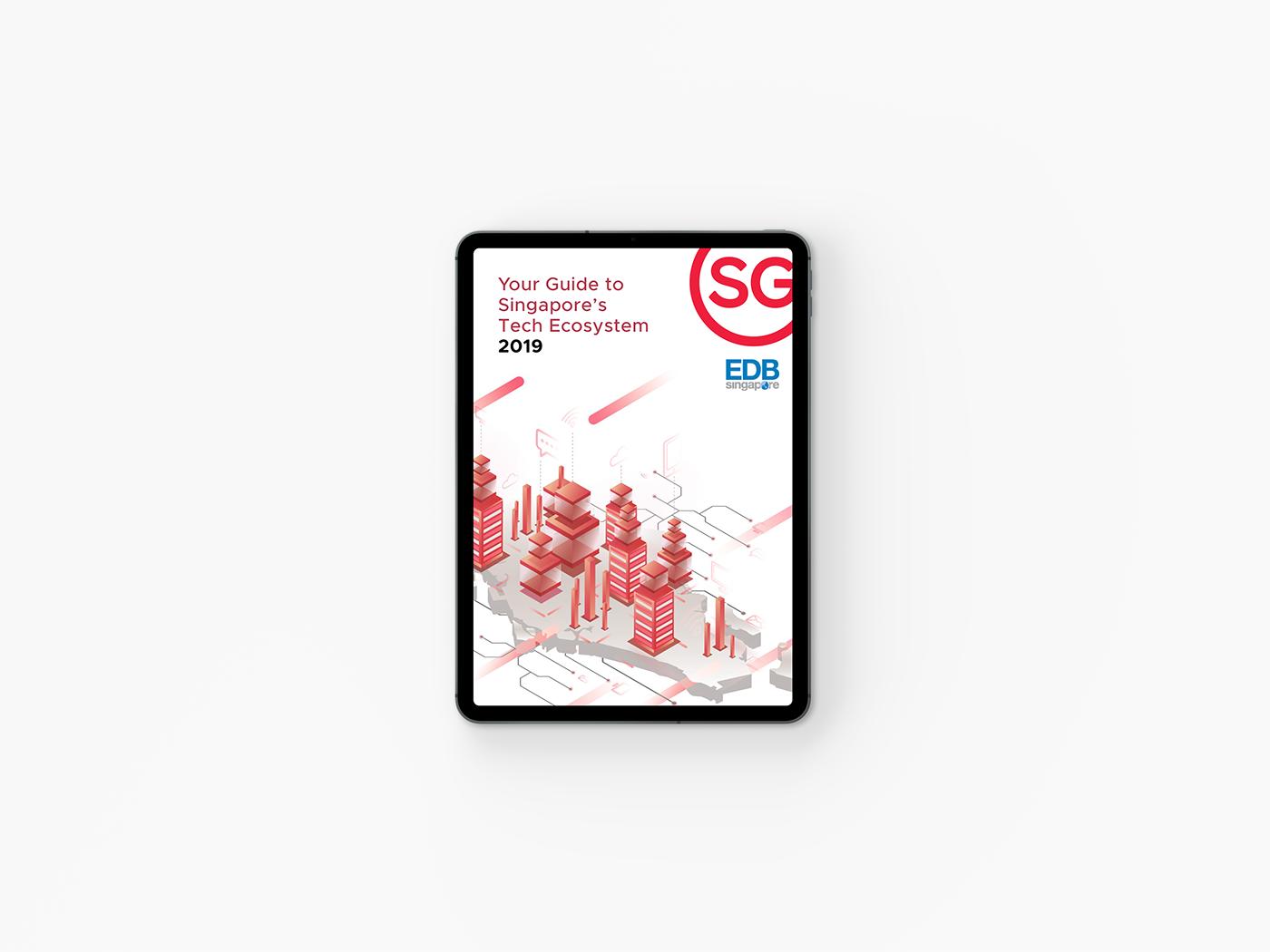 singapore editorial Layout