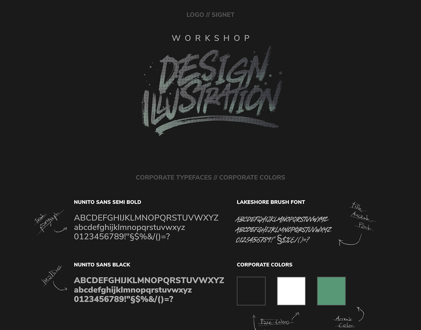 WORKSHOP DESIGN + ILLUSTRATION // Logo