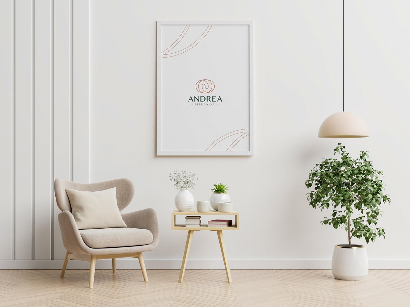 cura feminino homeopatia identidade de marca identidade visual logo Logotipo medicina antroposófica Nature