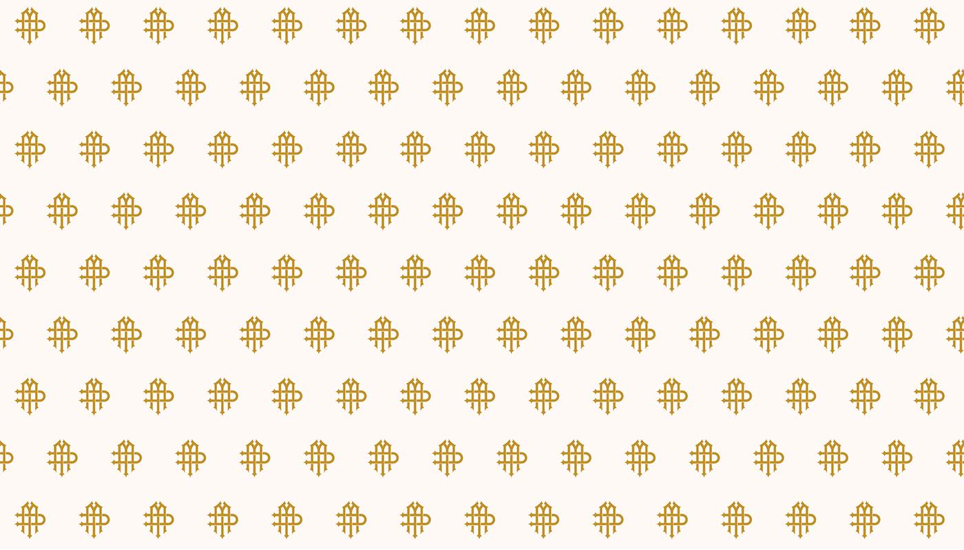 branding  gold Identity Design Illustrator lettermark logo luxury monogram Photography  Wedding Photography