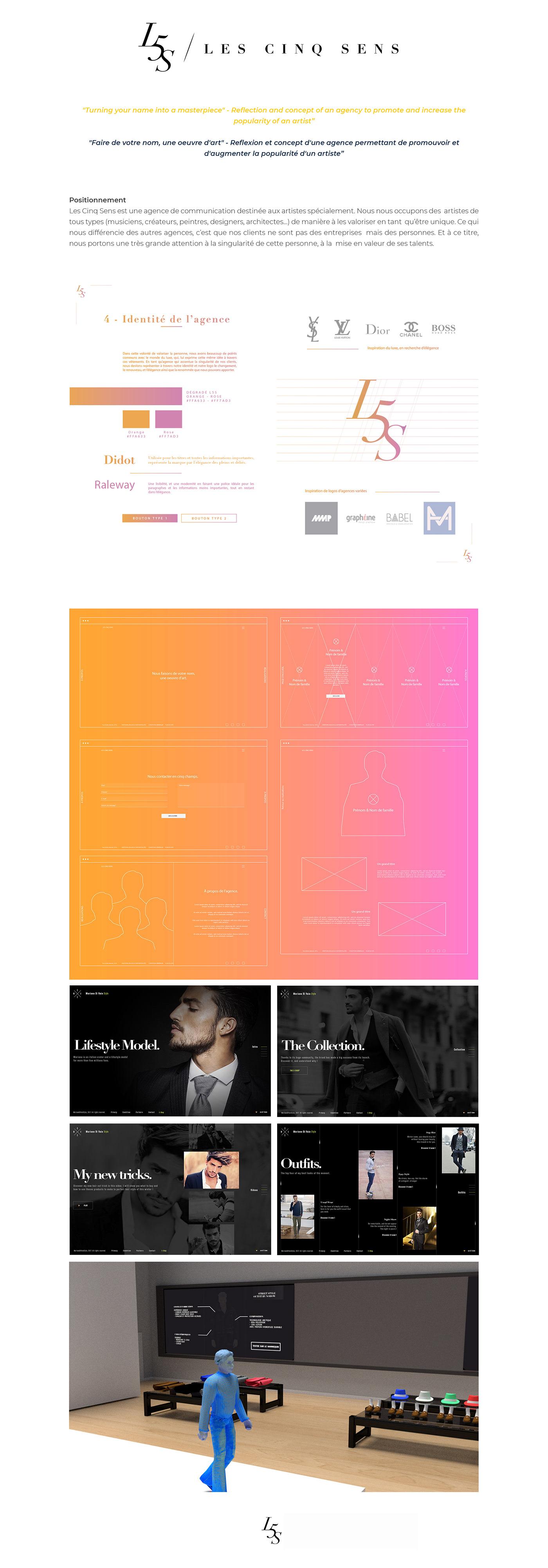 design agence Illustrator Web graphic Webdesign