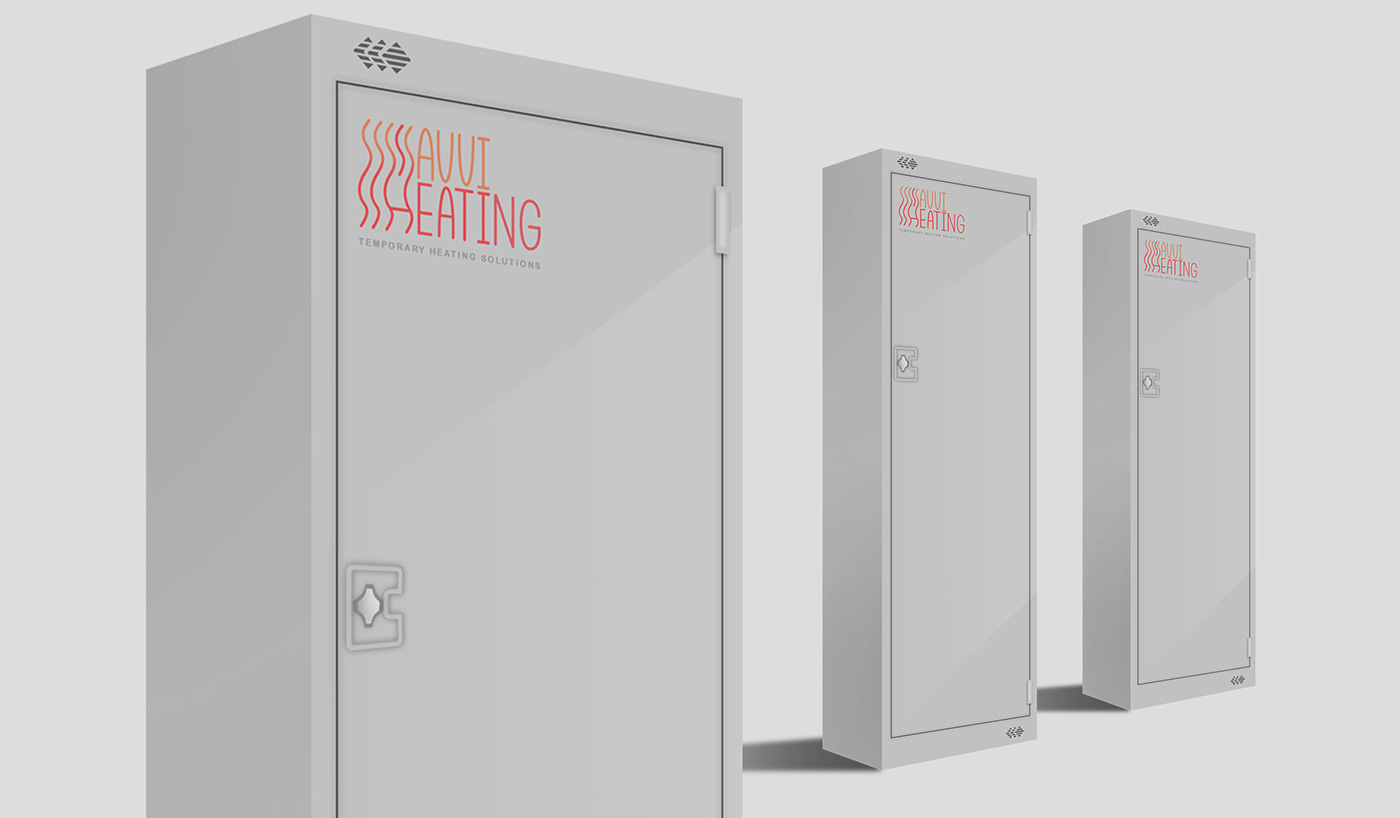 Illustration of heater units