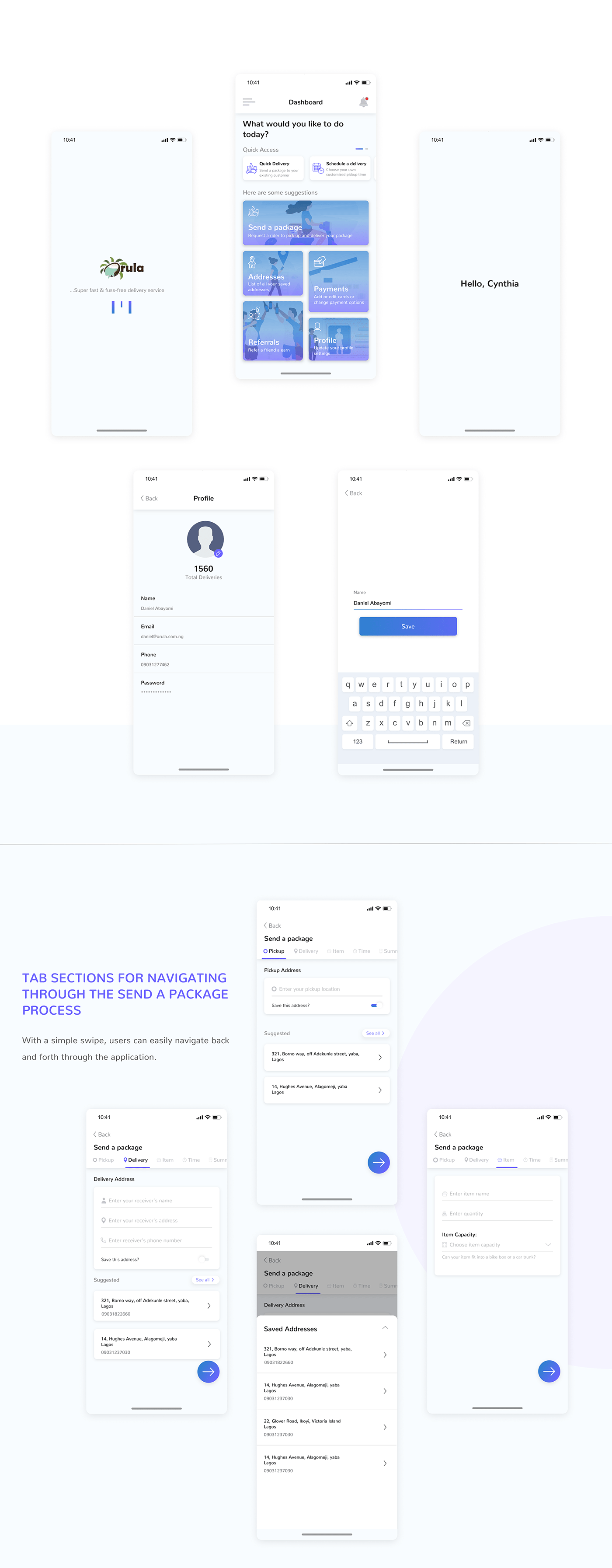 UI/UX Case Study motion graphics  interaction prototype wireframe Logistics map payment mobile