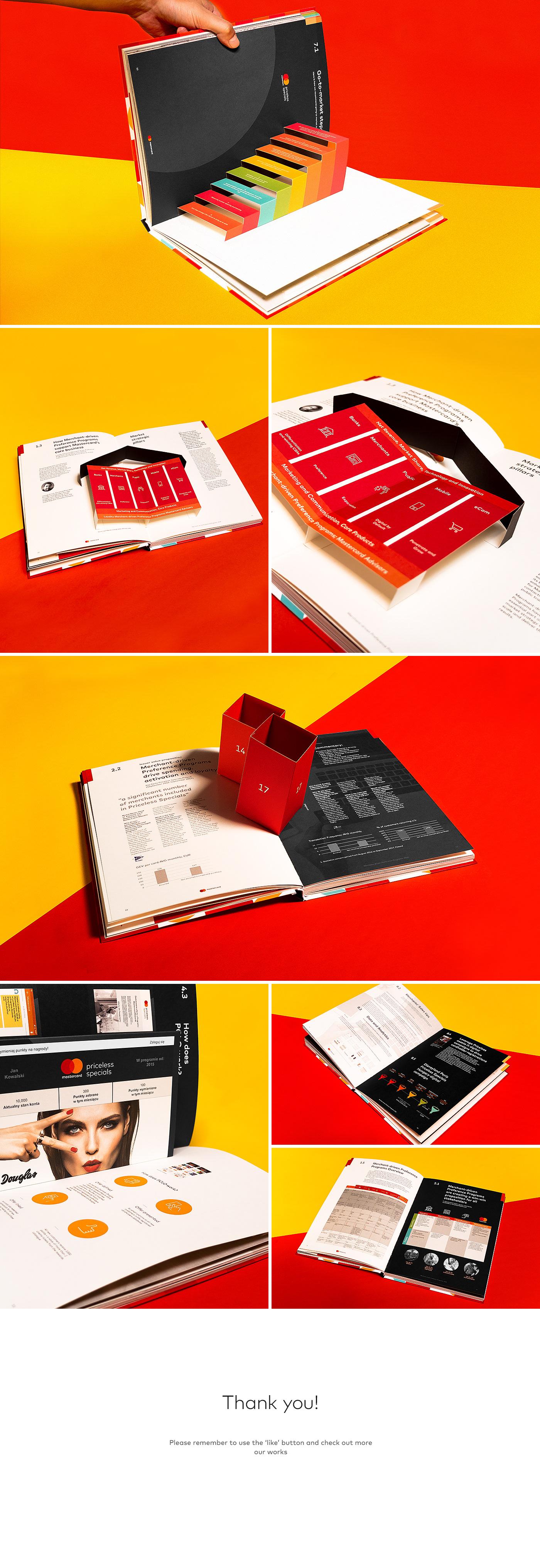 report design book design print Publications mastercard financial design priceless bartosz włodarczyk