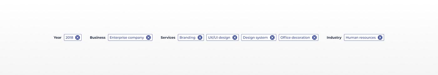 Case Study Figma HR portal illustrations job finder job portal job seeker ux/ui Web Design