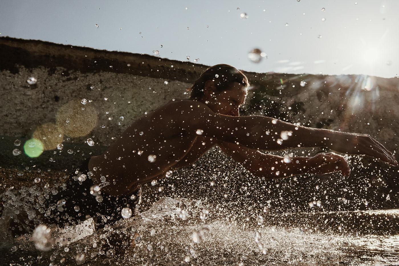 clarity Film   light Ocean people Photography  portraits underwater water