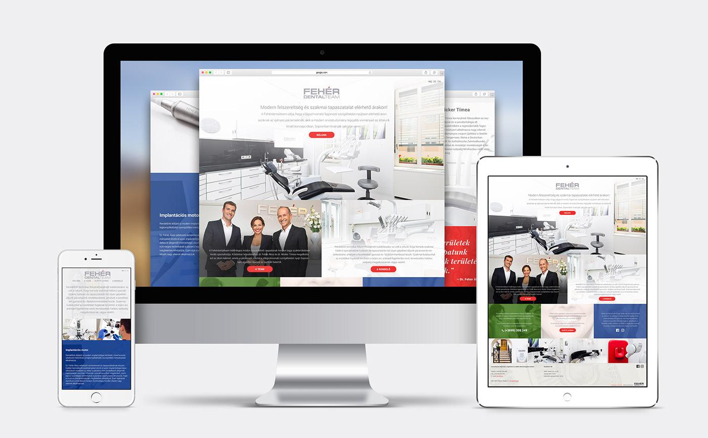 dental Webdesign Website