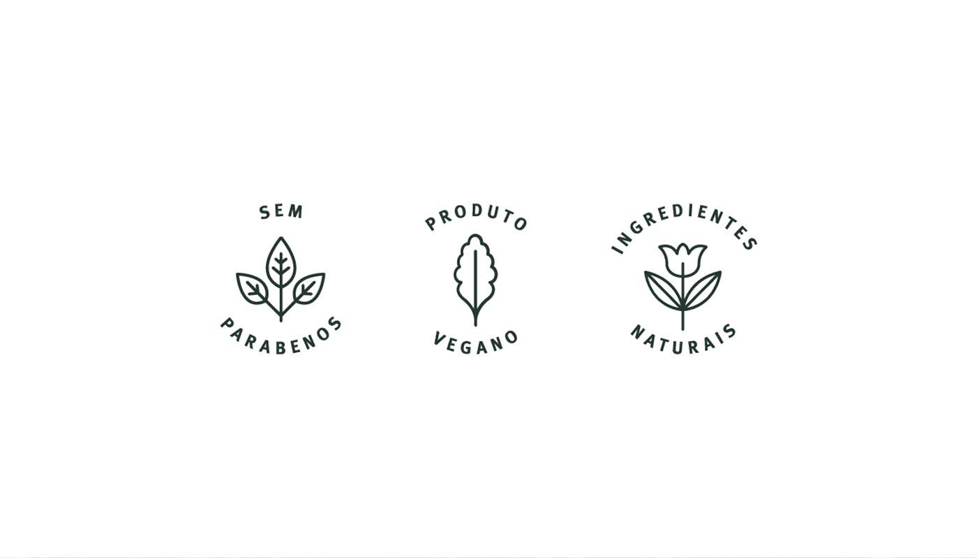 Cosméticos cosméticos naturais identidade cosméticos identidade visual lip balm natural parabenos sabonete