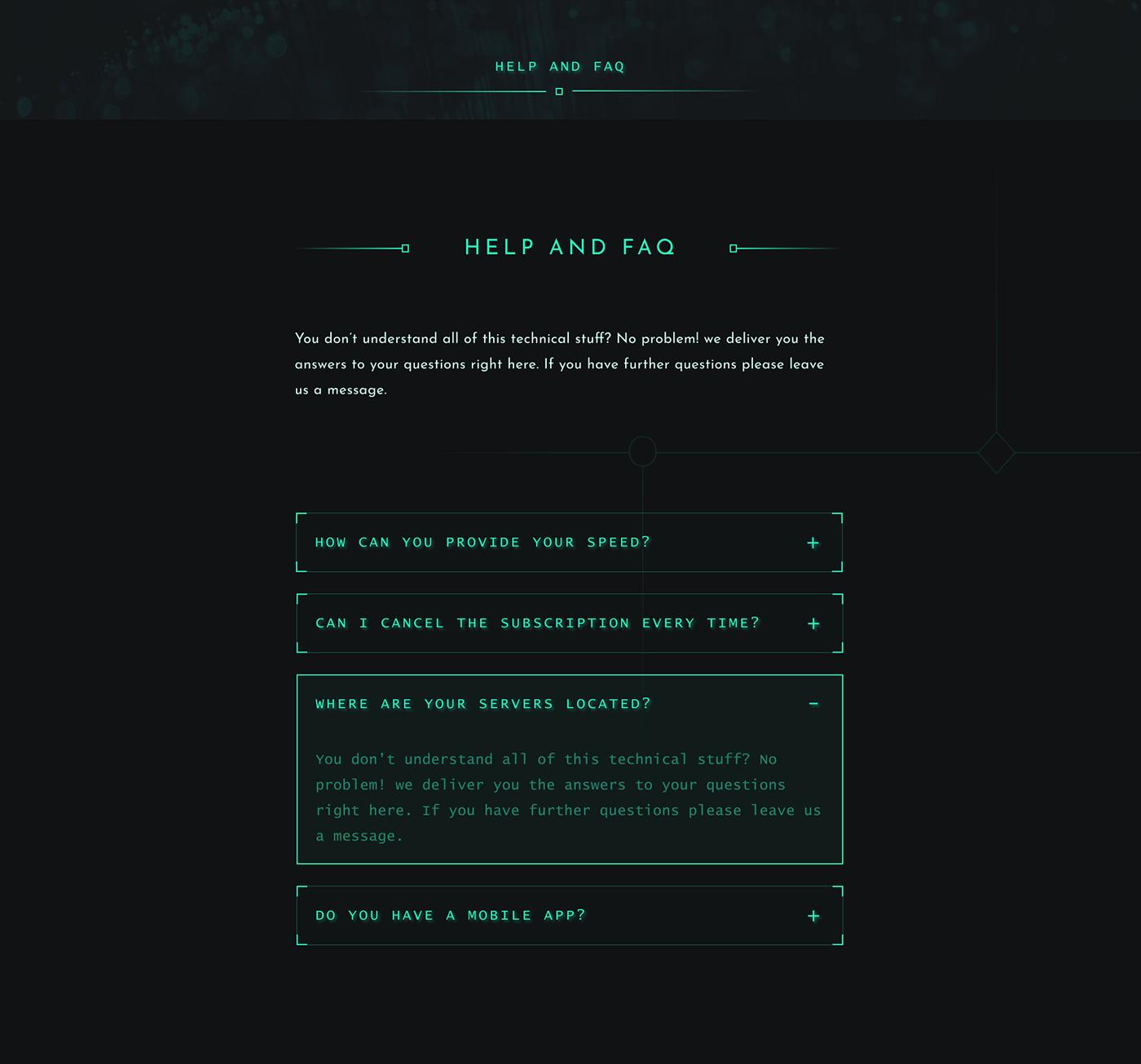 cyber dark digital futuristic hacker System Shock ui design UI/UX Web Web Design